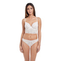 Soiree Lace Bralette- White