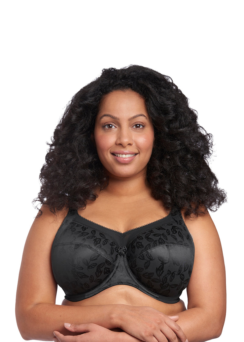 Goddess Petra Full Cup Bra- Black