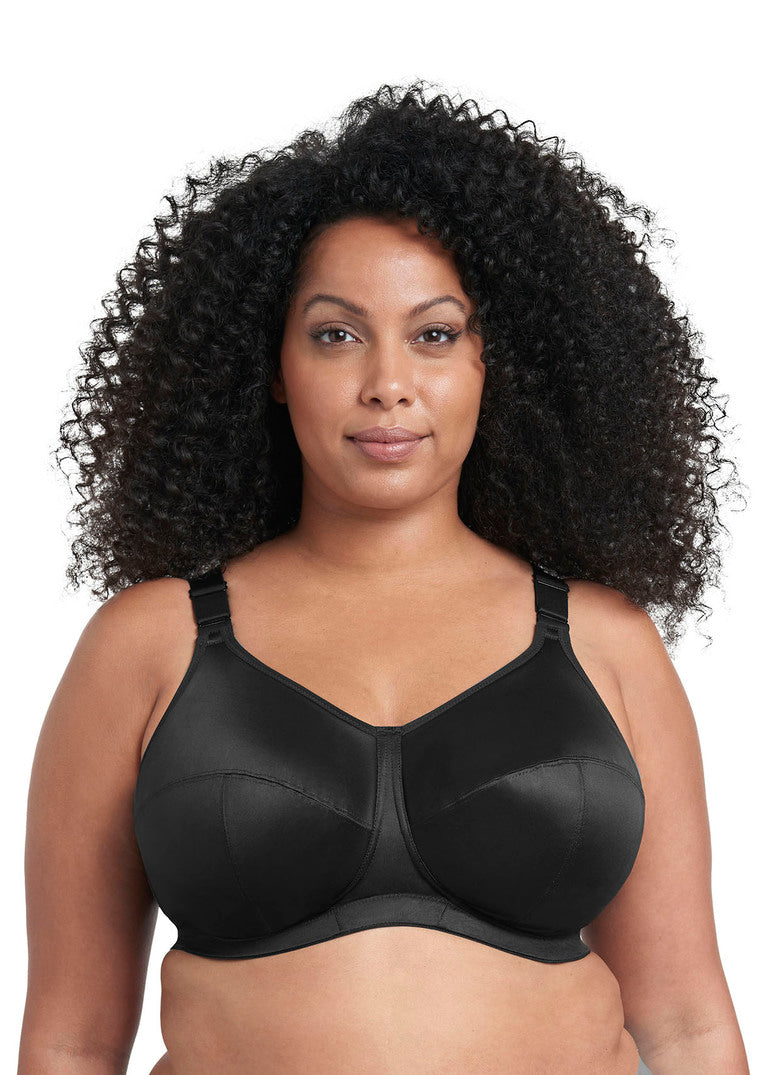 Goddess Celeste Soft Cup Bra- Black