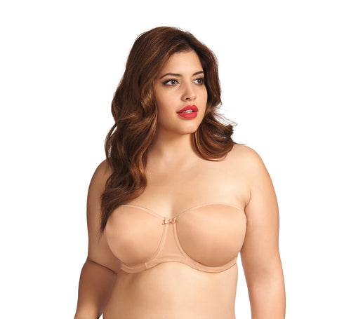 Fantasie Smoothing Moulded Strapless Bra- Nude