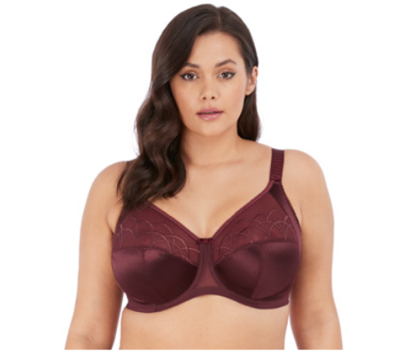 Elomi Cate Side Support Bra- Raisin