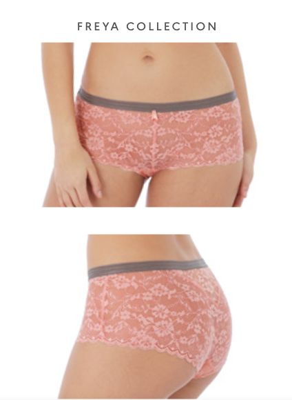 Freya Offbeat Short Brief - Rosehip PRE ORDER