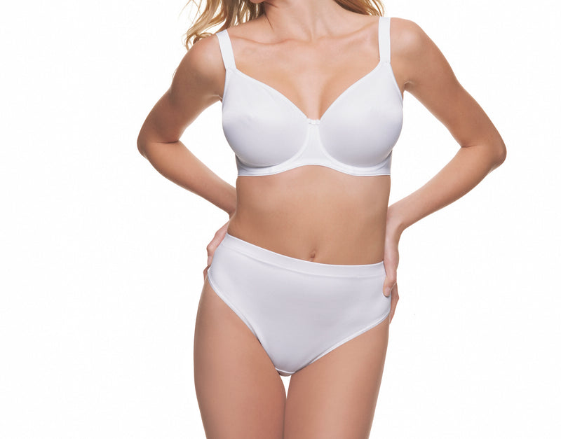 Fantasie Smoothing Moulded T-Shirt Bra- White