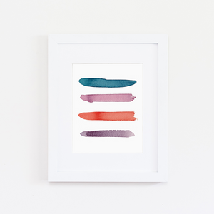 Huntington Color Palette Print