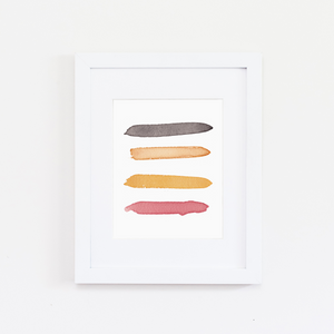 Sanibel Color Palette Print