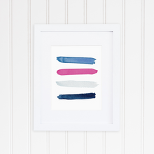 Seaside Color Palette Print