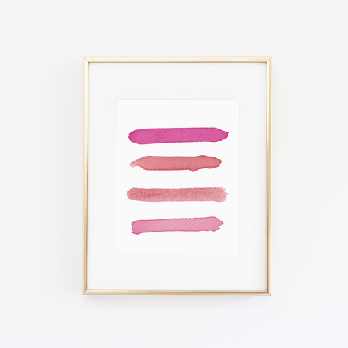 Limited Edition Love Palette Print