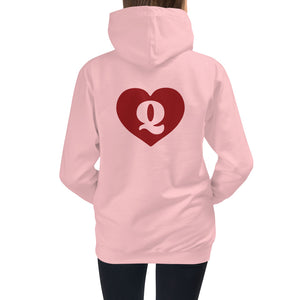 Queen of Hearts Kids Hoodie