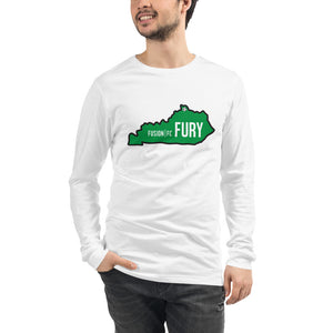 Green Kentucky Fury Unisex Long Sleeve Tee