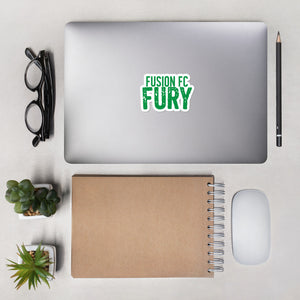 Green Fusion FC Fury Bubble-free stickers