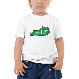 Green Kentucky Fury Toddler Short Sleeve Tee