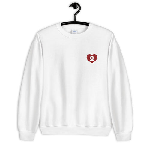 Red Queen of Hearts Unisex Sweatshirt