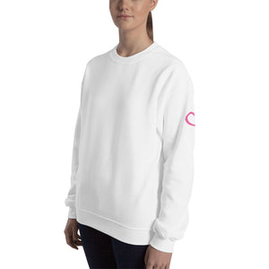 Heart on My Sleeve Unisex Sweatshirt