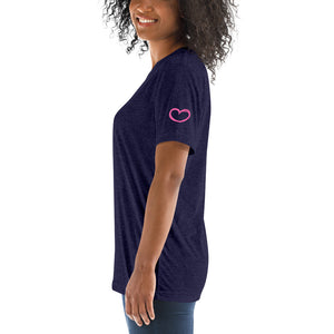 Heart on My Sleeve Short Sleeve T-shirt