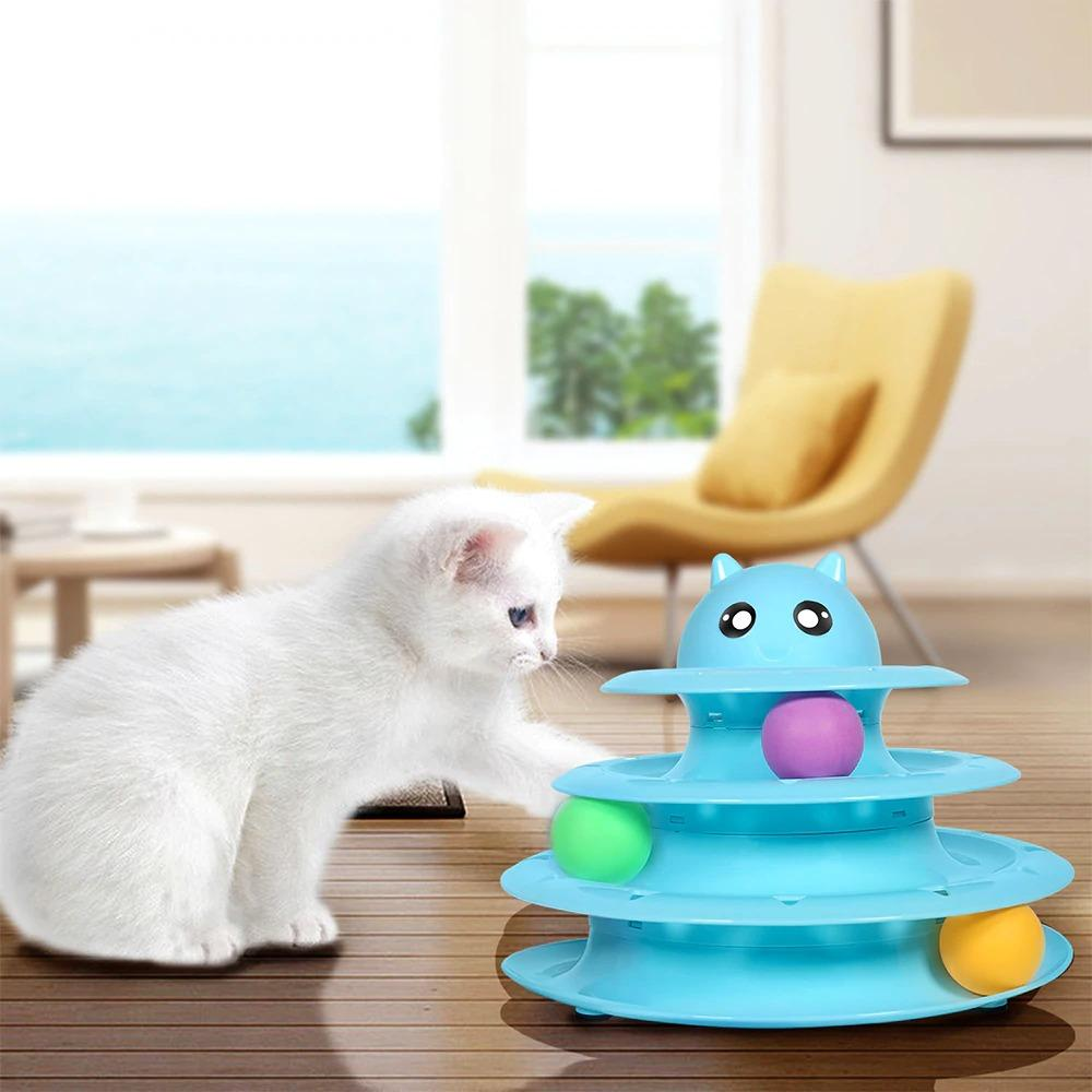 Cat Tower Track Toy