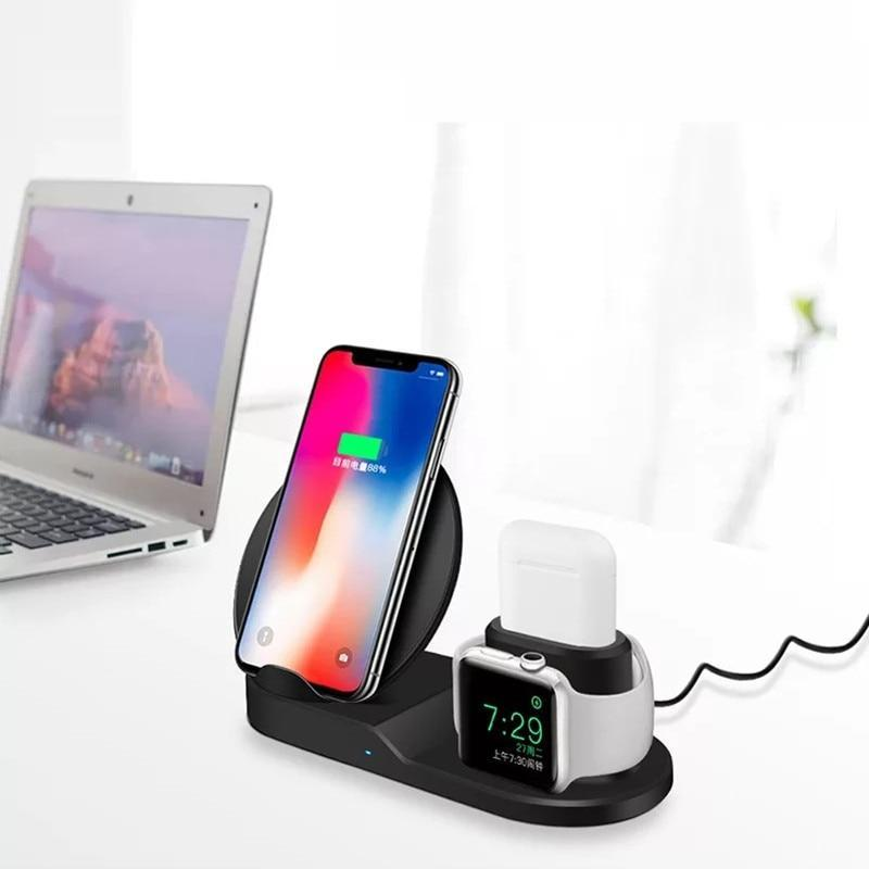 3 in 1 Fast Wireless Charger Dock