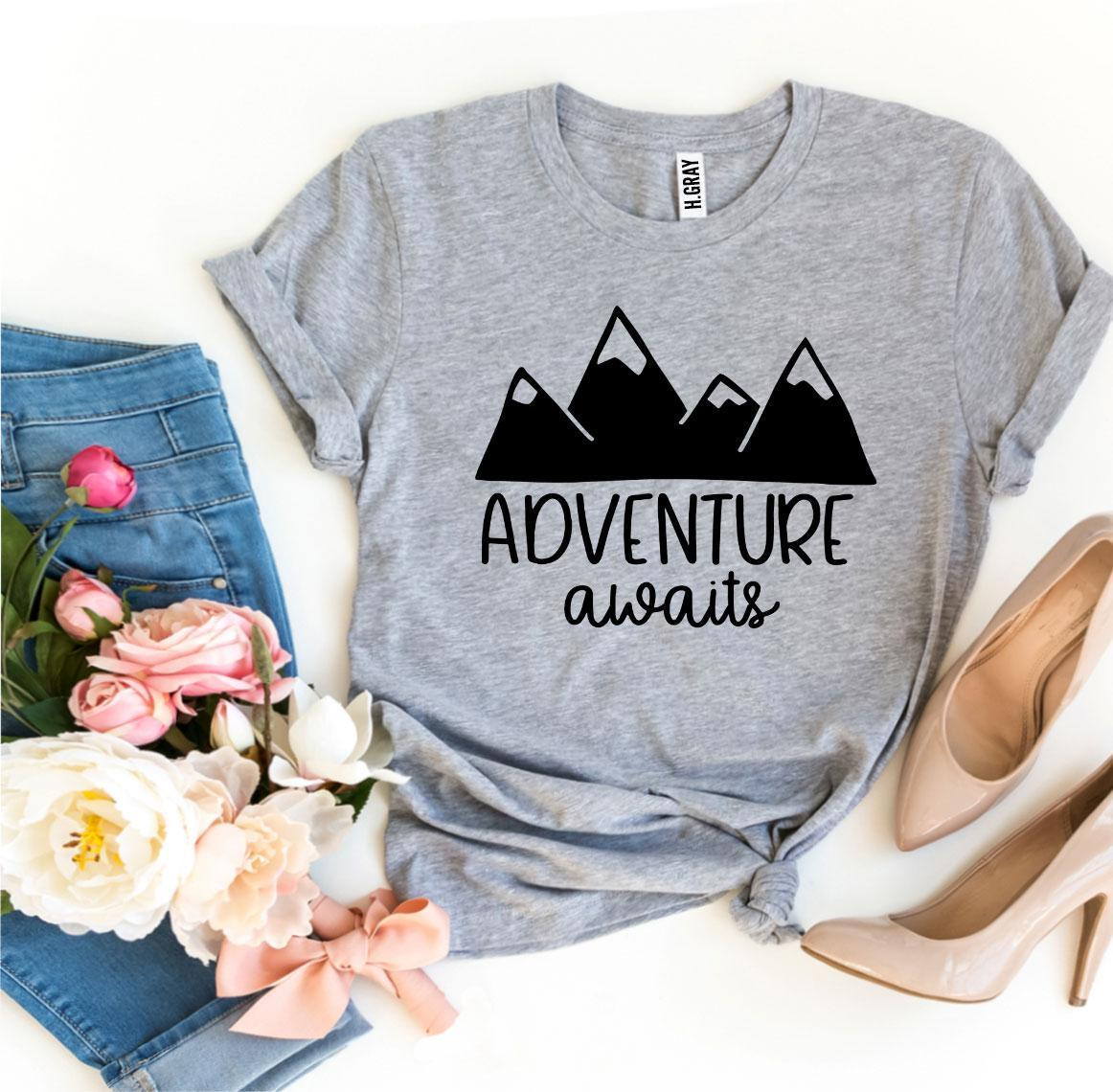 Adventure Awaits T-shirt Women's