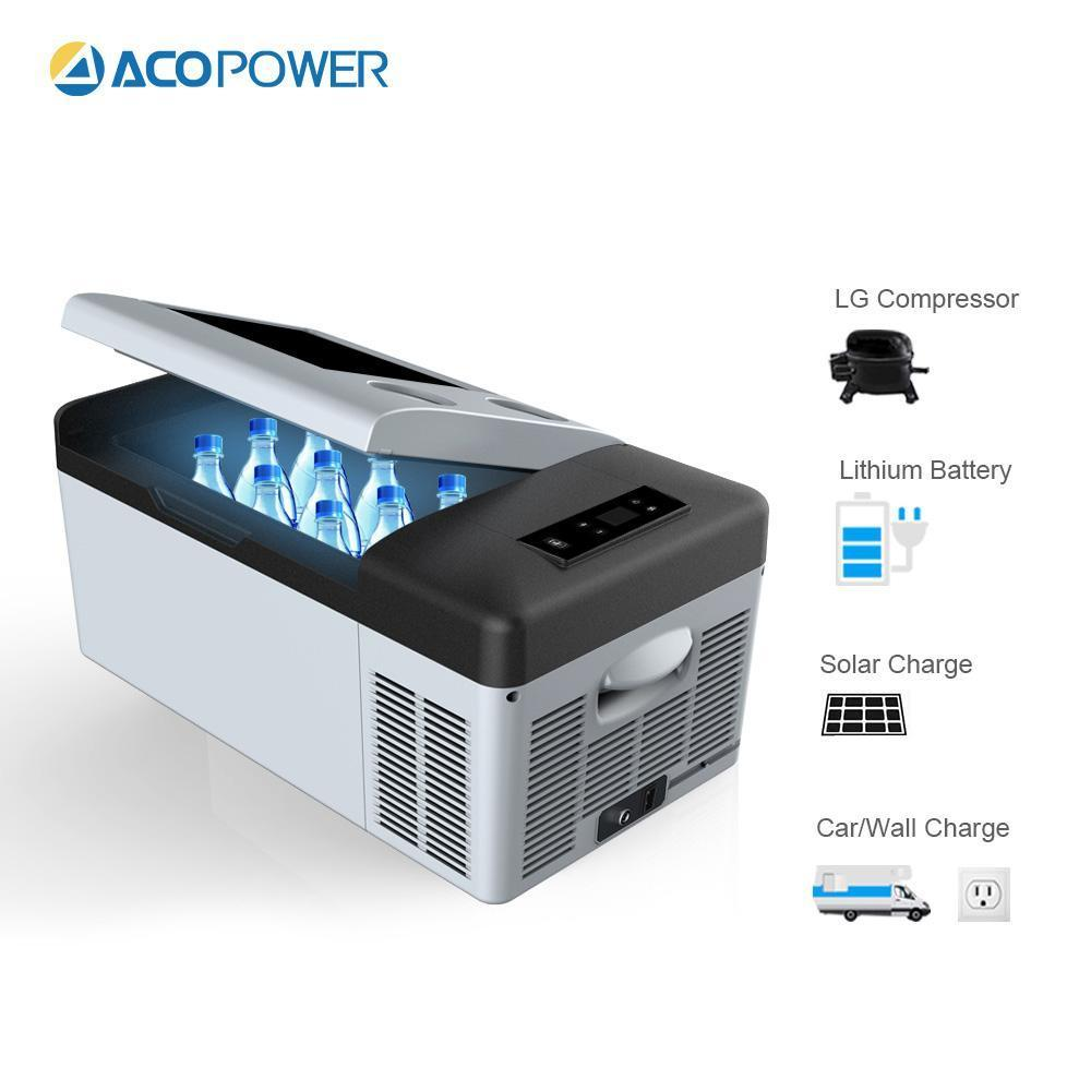 ACOPOWER P15 2016 DC Compressor Car Fridge Cooler