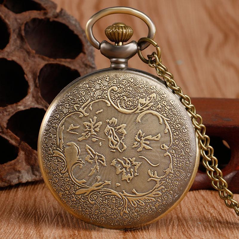 Little Prince pocket watch w/ necklace