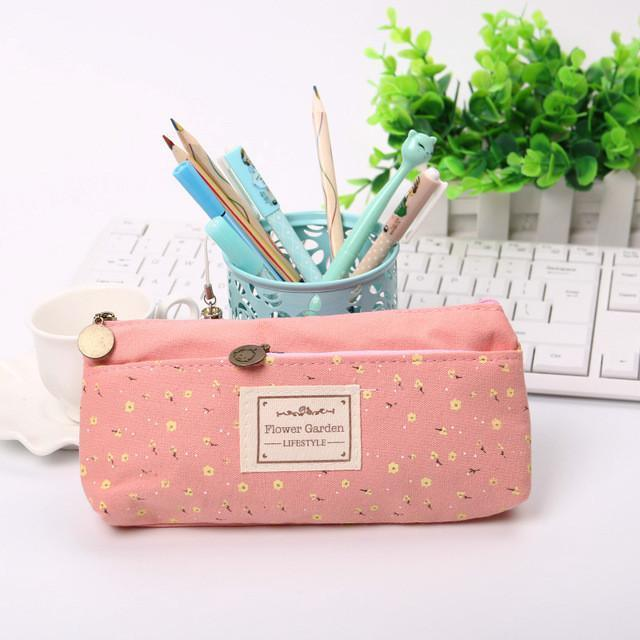 Floral stationary bag