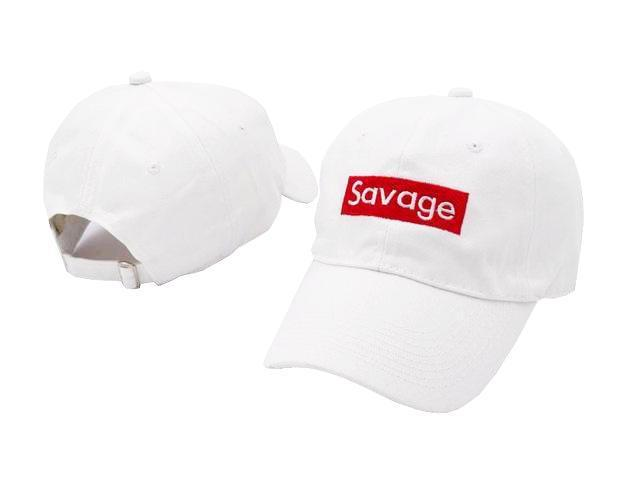Savage adjustable strapback cap