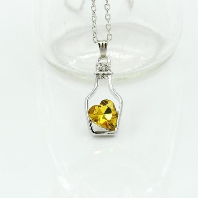 Love potion pendant & necklace