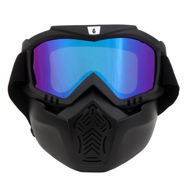 WB multi-use outdoor sports face mask and goggles