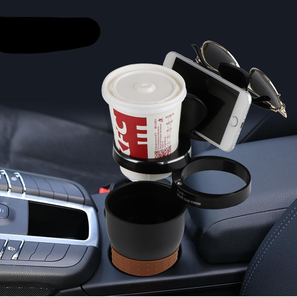 Multifunction 5 in 1 cup holder and storage