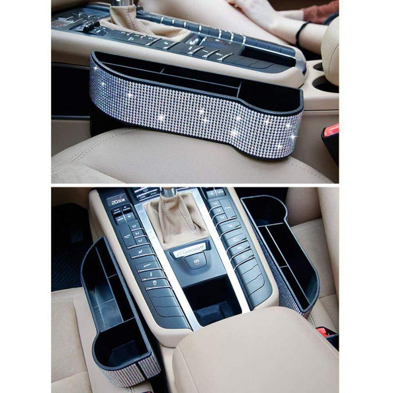 Diamond Front Car Seat Storage Organizer