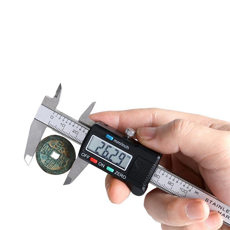"Stainless Steel Digital Caliper 6""/150mm with Case"