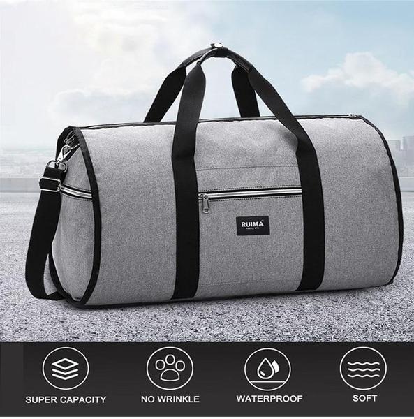 2 in 1 Garment Duffel Bag - Fashion Edition
