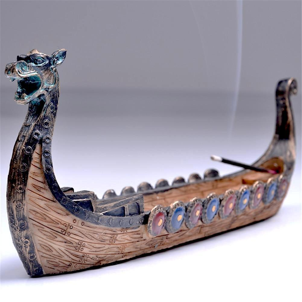 Dragon Boat Incense Stick Holder