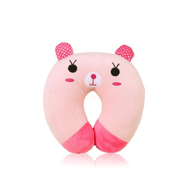 Cute animal U-shaped neck pillow