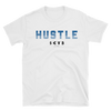 Hustle midnight blue on white T-Shirt