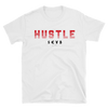Hustle red print on white T-Shirt