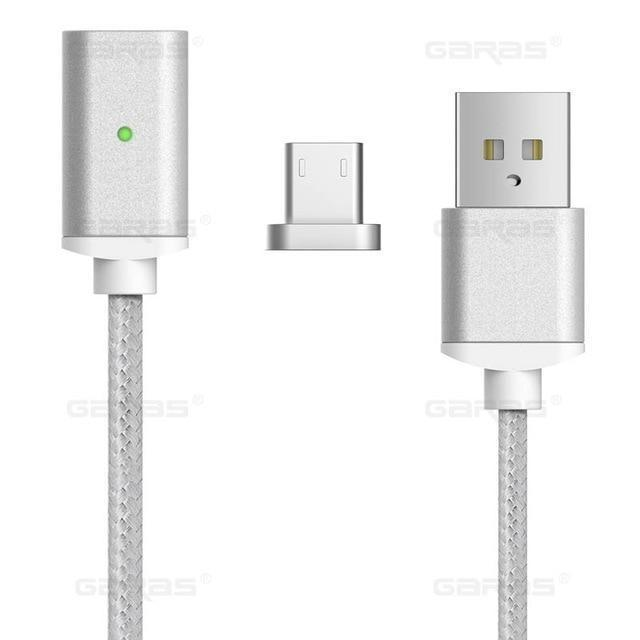 Android Magnetic Charging Cable for Phone 1M Micro USB Charger