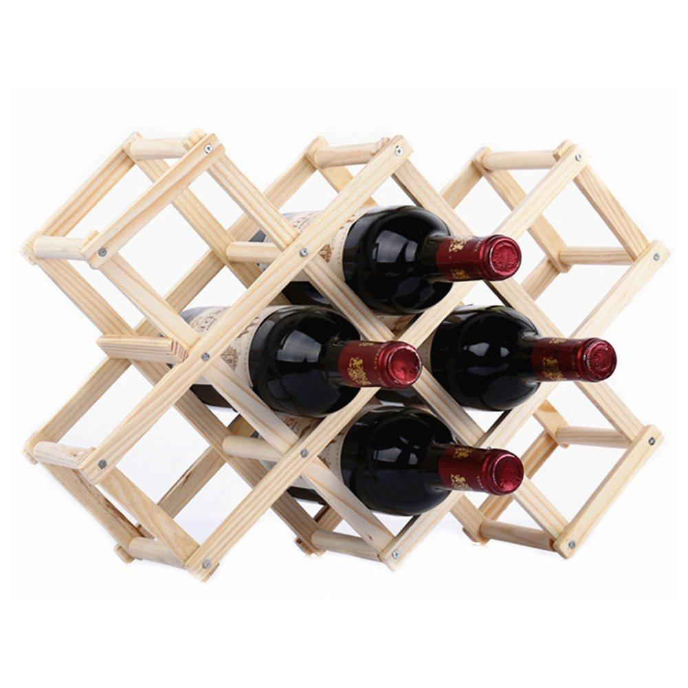 10 Bottle Honeycomb Wine Rack