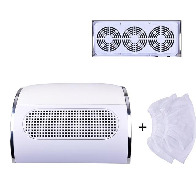 3 Fan Professional Nail Dust Collector