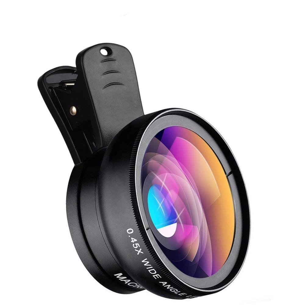 Wide Angle/Macro Lens Kit for Mobile Phone