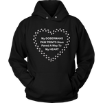Doberman Paw Prints To My Heart Hoodie