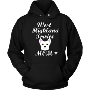 West Highland Terrier Mom Hoodie