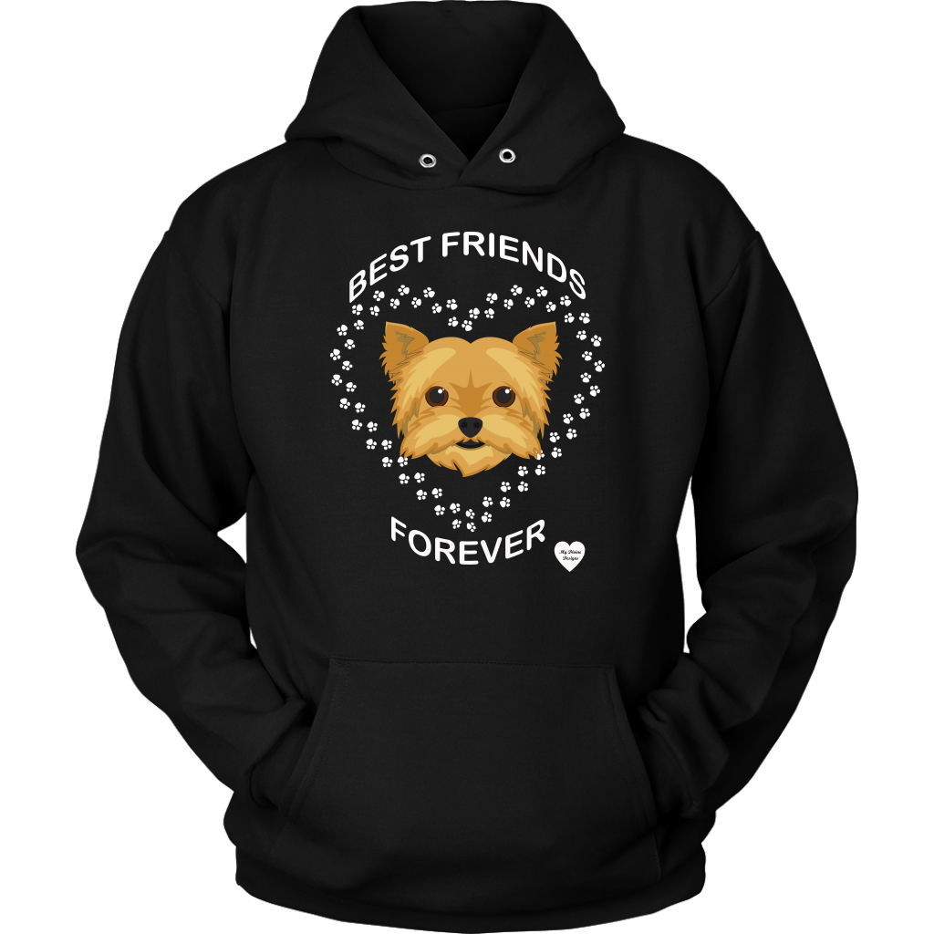 Yorkshire Terrier Best Friends Forever Hoodie