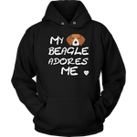 My Beagle Adores Me Hoodie