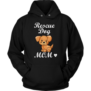 Rescue Dog Mom Hoodie