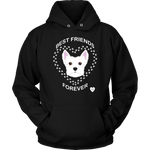 West Highland Terrier Best Friends Forever Hoodie