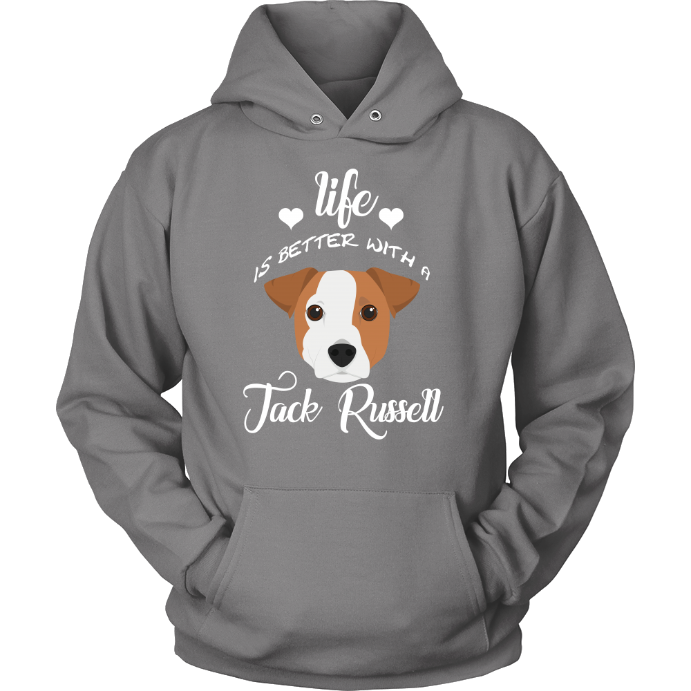 Life Is Better With A Jack Russell Hoodie