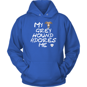 Greyhound Adores Me Hoodie Royal Blue