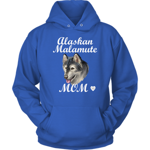 Alaskan Malamute Mom Hoodie Royal Blue
