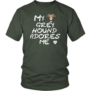 Greyhound Adores Me T-Shirt Olive