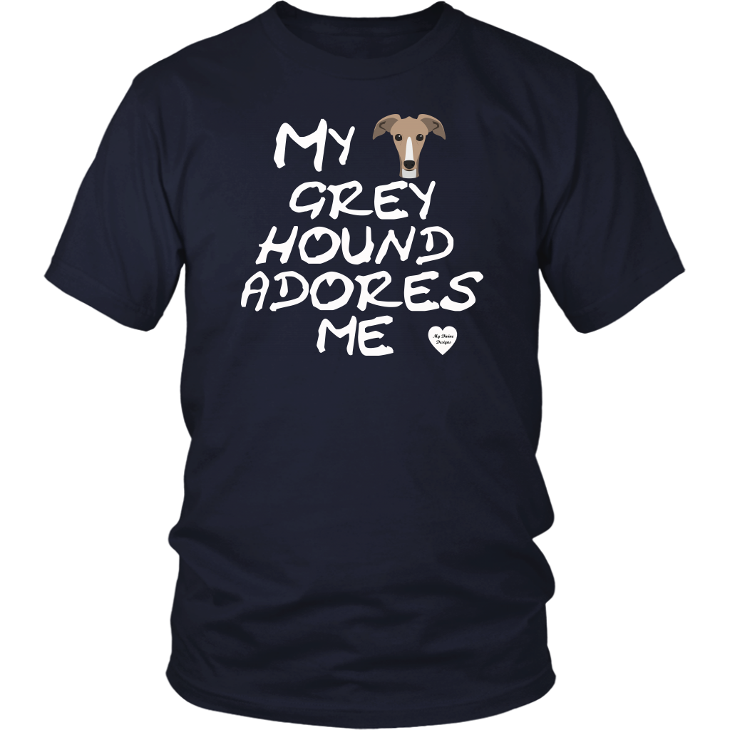 Greyhound Adores Me T-Shirt Navy